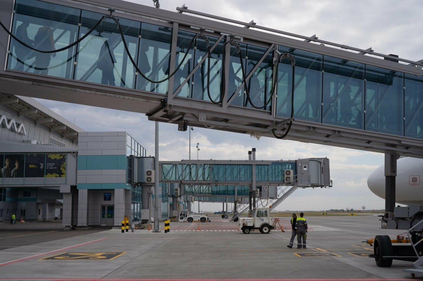 В одесском аэропорту заработал телетрап, - ФОТО, фото-1