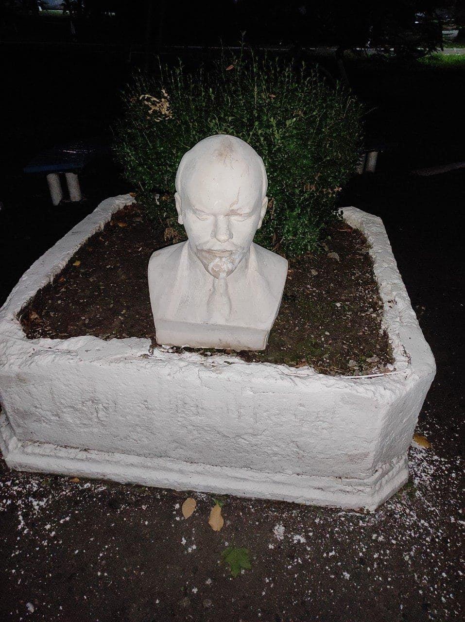 В Одесской области в парк принесли бюст Ленина, - ФОТО, фото-1
