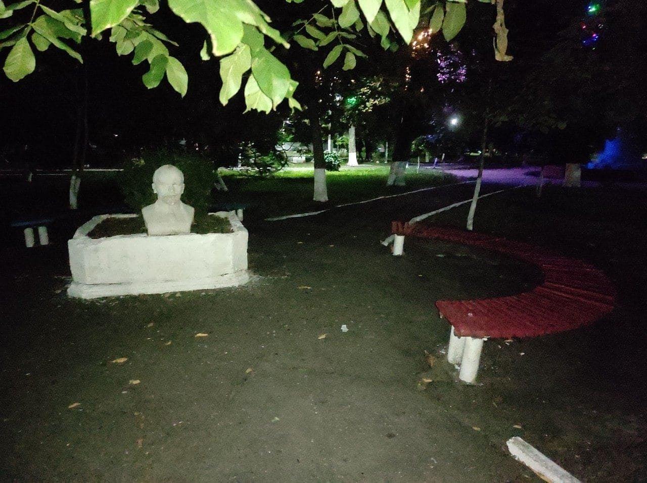 В Одесской области в парк принесли бюст Ленина, - ФОТО, фото-2