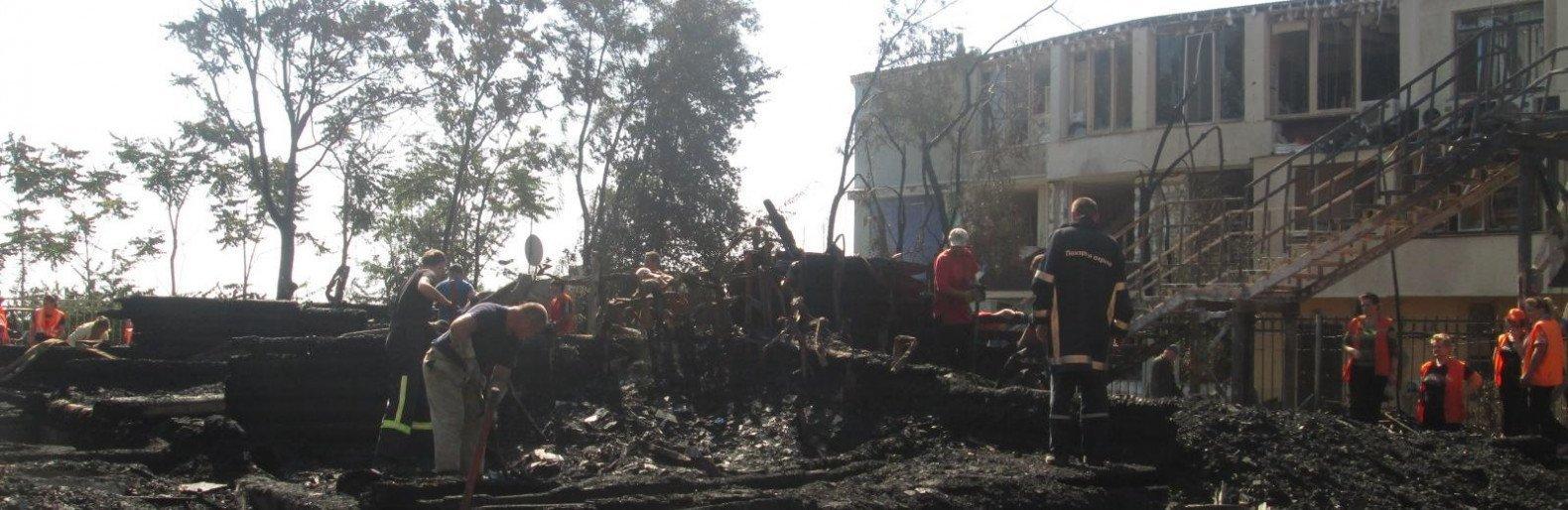 """На пепелище лагеря """"Виктория"""" нашли еще один кипятильник, - СМИ"""