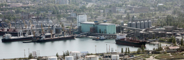 Портовый элеватор в азов установка транспортер