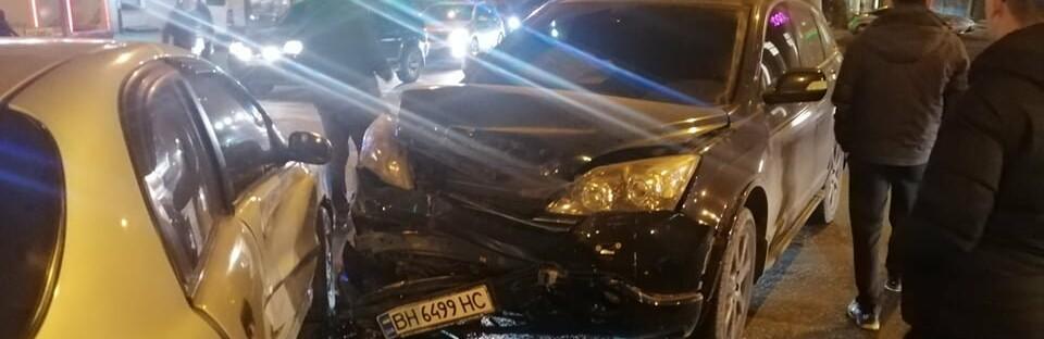 В машине был ребенок: в Одессе произошло ДТП