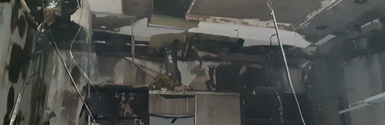 В Одессе горел завод, на котором лепят пельмени,- ФОТО0