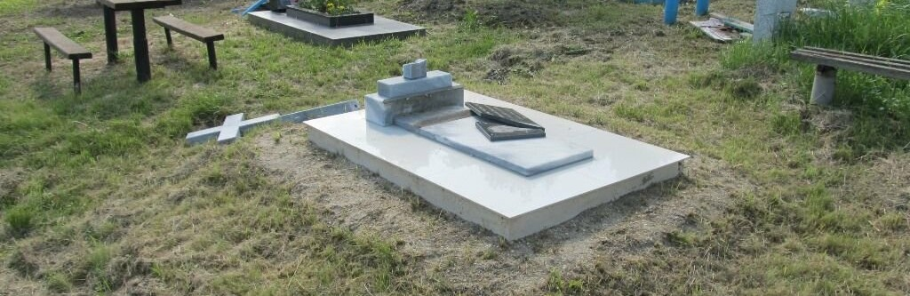 В Одесской области вандала, разгромившего кладбище, посадили на 4 года0