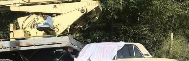 Под Одессой в ДТП погиб мужчина: он потерял сознание и врезался в автокран, - ФОТО0