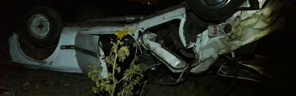 Ночью под Одессой компания пьяных молодых людей попала в ДТП, двое погибли,- ФОТО0