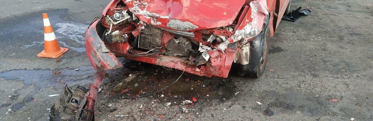 Под Одессой столкнулись Mazda и Жигули, есть пострадавшие, - ФОТО0
