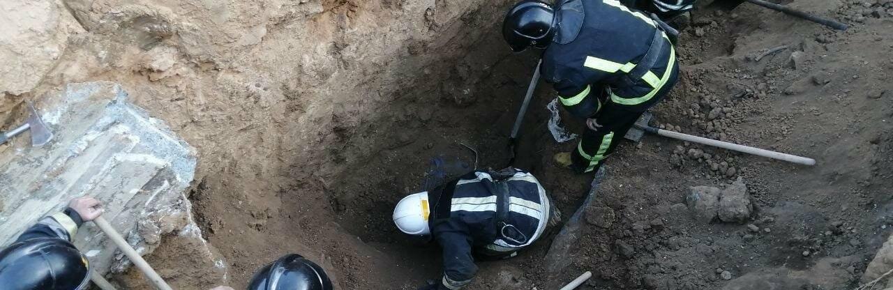 В Одессе на стройке ЖК обвалился котлован, двое строителей погибли, - ФОТО0