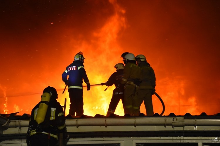 В Одесской области горел летний ресторан, - ФОТО, ВИДЕО0