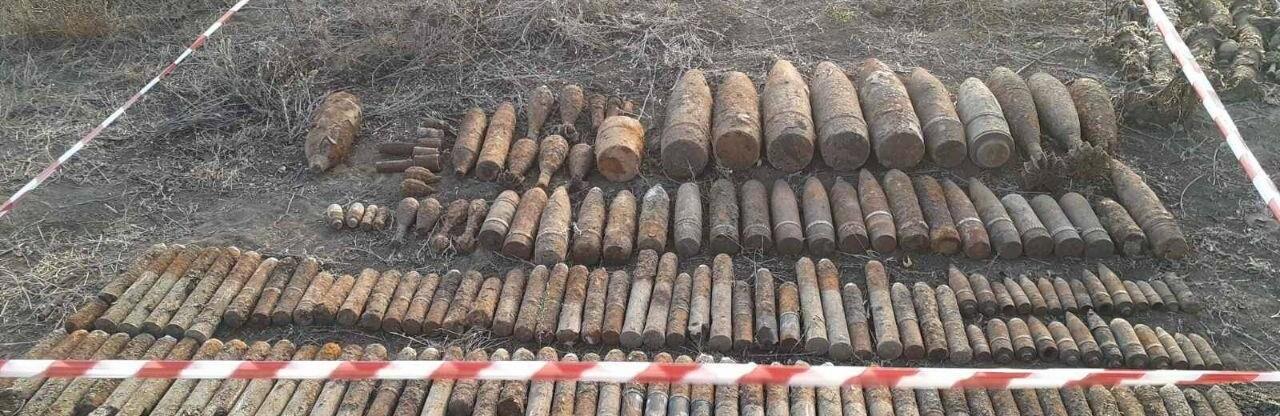 Под Одессой спасатели обезвредили 169 взрывоопасных предметов, - ФОТО 0