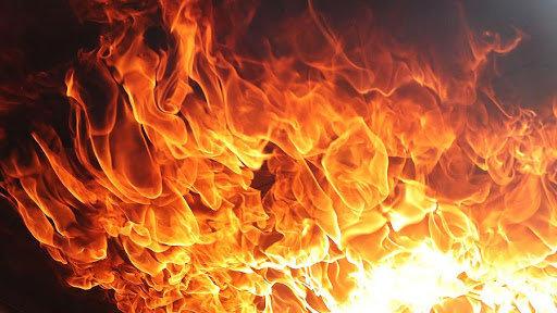 В Одессе горел ресторан, - ФОТО0