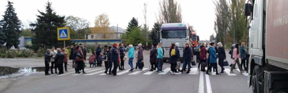 В Одессе протестуют жители дома на Среднефонтанской: они перекрыли...0