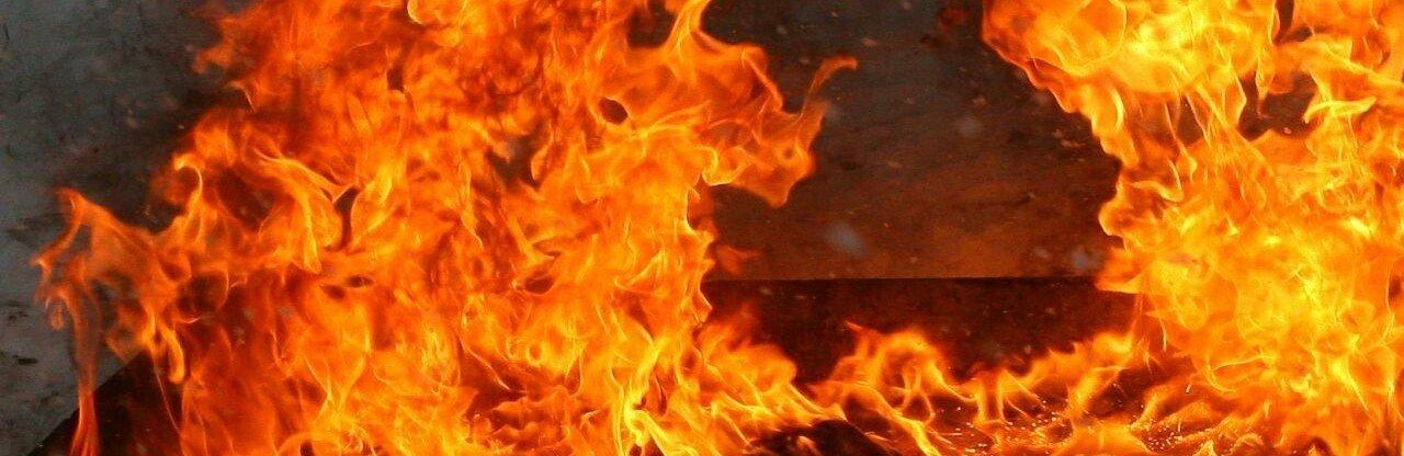 В Одессе на пожаре погиб мужчина, - ФОТО0