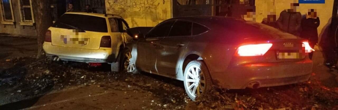 ДТП с участием пяти иномарок в Одессе: пострадала женщина, - ФОТО0
