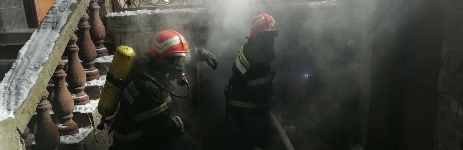 Спасатели Одесской области более часа тушили подземный пожар, - ФОТ...0