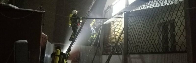 В Одессе горело студенческое общежитие юракадемии, - ФОТО0