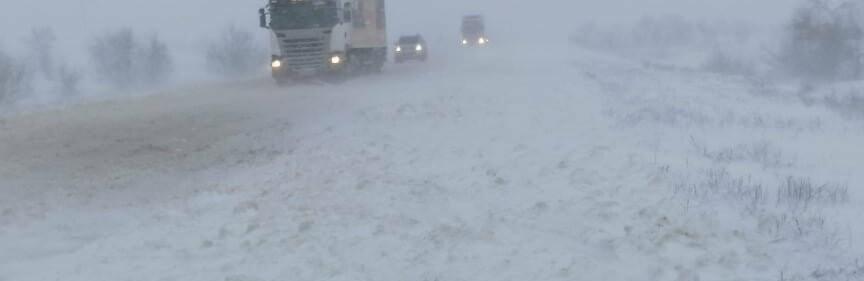 Села Одесской области заметает снегом, на трассе переметы,- ФОТОРЕП...0