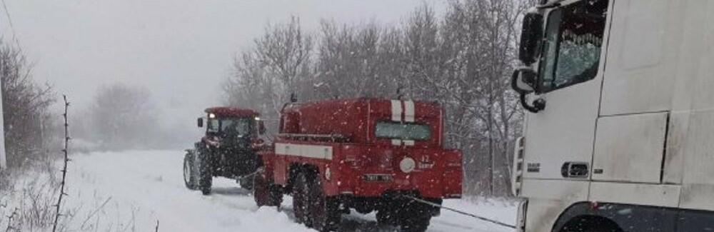 На трассе Одесса-Киев находится 600 грузовиков, - ФОТО0