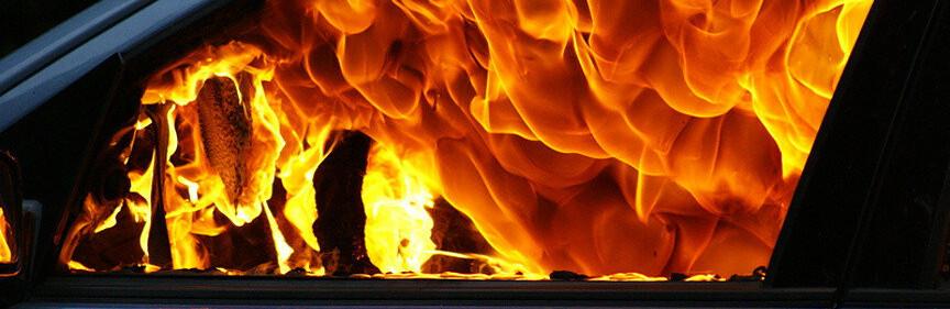 В Одесской области ночью сгорел автомобиль, - ФОТО0