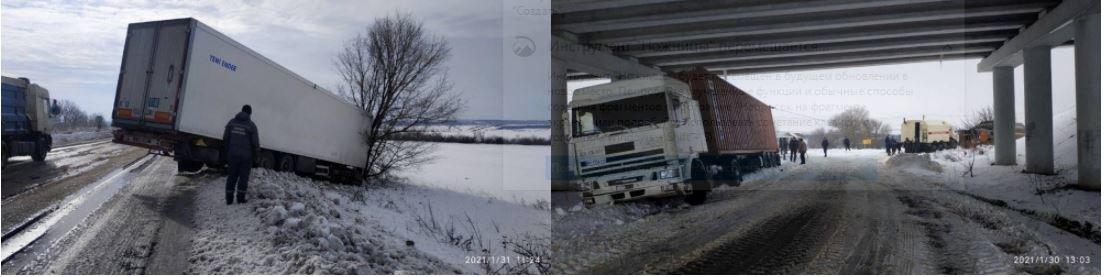 В Одесской области спасатели вытаскивали из снега фуру и внедорожни...0