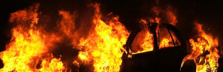 Пожар на железнодорожном переезде: в Одессе горит второй автомобиль...0