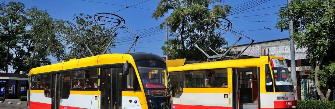 В Одессе не ходит несколько маршрутов трамваев и троллейбусов